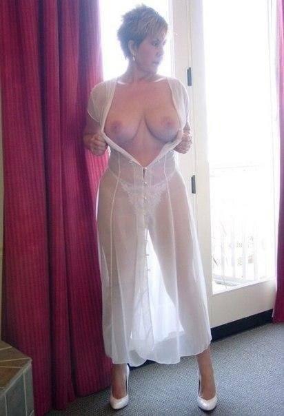 Cougar en tenue sexy